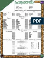 The Enchanted Edited Sheet