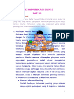 Kombis Sap 14
