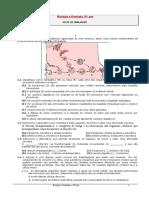 Ficha Avaliação Bio 10º