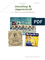 amazing   empowered workbook