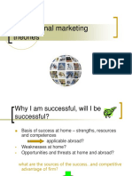 International Marketing Theories