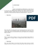 Pengertian Polusi Udara Tanah Dan Air