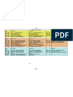 GBCE Timetable 2010