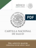 Cartilla Adultos Mayores 2014