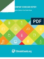 Climate Count Scorecard Report 2009