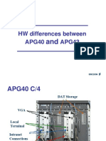 HW Differences Between Apg40 Apg43