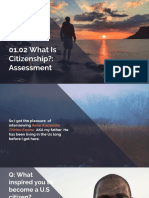 01.02 What is Citizenship-- Assessment