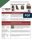 Fall 2010 Class Schedule