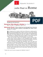 Lesson1 the Apostle Paul in Rome Stan 4qua 2017