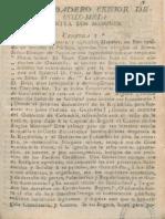1823 El verdadero censor de Colombia - Bogotá