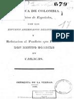 1823 Unos colombianos - Expulsión de españoles BN, F. Pineda 166, pza. 17
