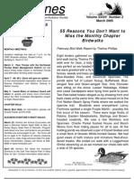 March 2005 Shorelines Newsletter Choctawhatchee Audubon Society
