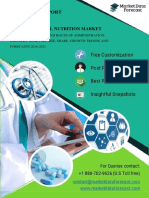 Clinical nutrition market Expected to reach 52.54 billion USD  by 2021