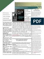 September 2006 Shorelines Newsletter Choctawhatchee Audubon Society