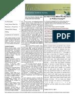 October 2006 Shorelines Newsletter Choctawhatchee Audubon Society