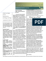 November 2006 Shorelines Newsletter Choctawhatchee Audubon Society