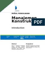 Modul 1 Introduction.doc