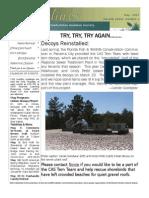 May 2007 Shorelines Newsletter Choctawhatchee Audubon Society