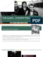 The Clash – I Fought the Law Music Video Analysis