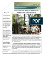 September 2007 Shorelines Newsletter Choctawhatchee Audubon Society