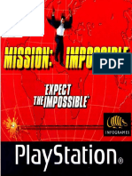 Mission Impossible - Manual - PSX