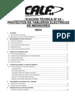 ET N 4 Tableros Para Medidores - 2011 - V-01 - CALF