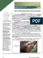 February 2008 Shorelines Newsletter Choctawhatchee Audubon Society