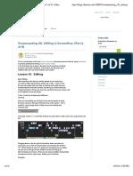 Screencasting 101. Editing in Screenflow. (Part 2 of 3) | Atlassian Blogs