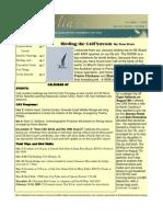 October 2008 Shorelines Newsletter Choctawhatchee Audubon Society