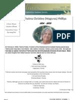 March 2009 Shorelines Newsletter Choctawhatchee Audubon Society