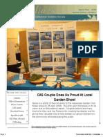 April-May 2009 Shorelines Newsletter Choctawhatchee Audubon Society