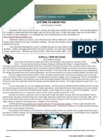 Spring 2010 Shorelines Newsletter Choctawhatchee Audubon Society