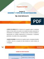 INVESTIGACION TIPO Y DISEÑO