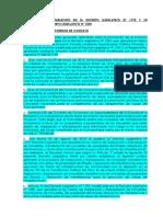 Marco de Lo Establecido en El Decreto Legislativo Nº 1192 y Su Modificatoria Decreto Legislativo Nº 1330