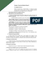 Revisão de Direito Penal 1