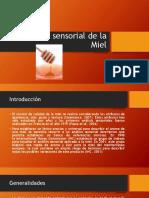 Análisis Sensorial de La Miel
