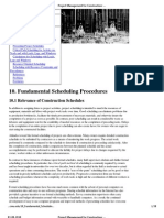 Project Management for Construction_ Fundamental Scheduling Procedures
