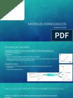 7. MODELOS HIDROLOGICOS