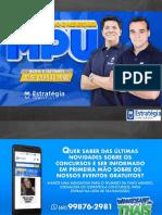 MPU - Plano de Estudos & Mentoria