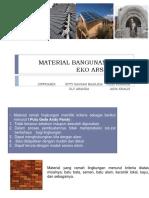 Alternatif Material Dan Energi