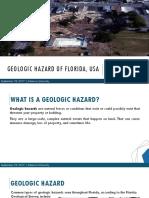 Geohazard Florida