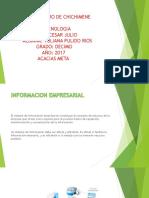 Informacion Impresarial