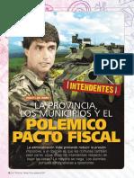 La Provincia, los municipios y el polémico pacto fiscal