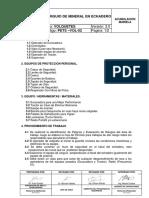 Pets-002 Aja-Vol.carguio de Mineral en Echadero