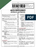 ODB - Math (Algebra and Arithmetic)