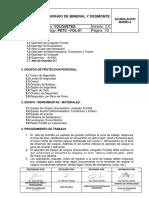 Pets-001 Aja- Vol.carguio de Mineral