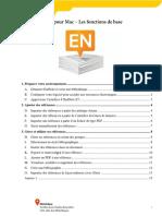 Tutoriel EndNote X7 Mac Fonctions Base