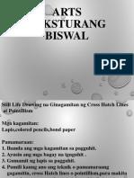 Arts- Teksturang Biswal