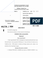Roger Clemens Indictment