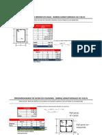 Cálculo de Acero en Vigas y Columnas